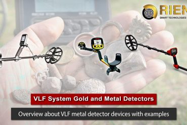 VLF System Gold and Metal Detectors